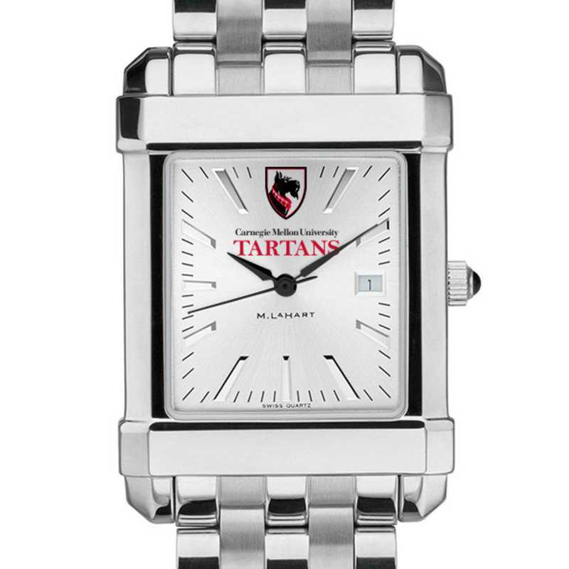 615789811503: Carnegie Mellon University Men's Collegiate Watch w/Bracelet