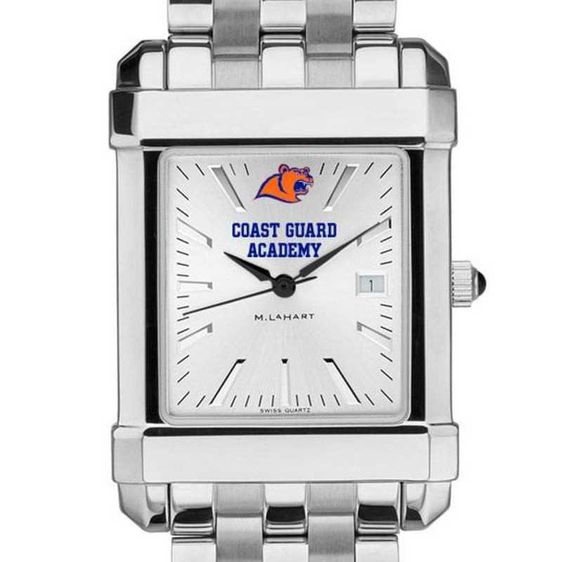 615789940531: Coast Guard Academy Men's Collegiate Watch w/ Bracelet