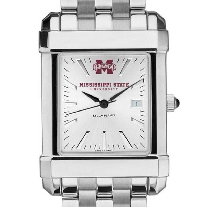 615789993179: Mississippi State Men's Collegiate Watch w/ Bracelet