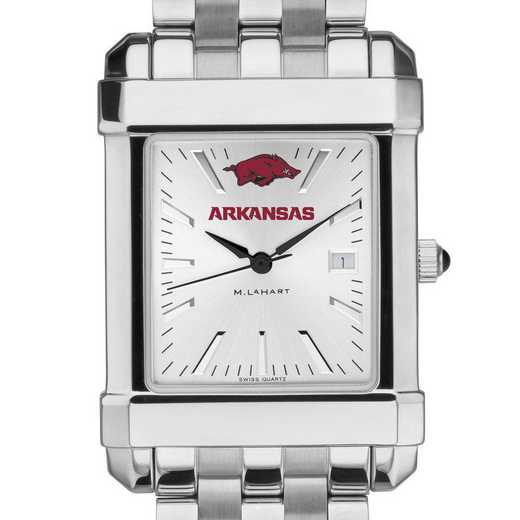 615789026341: University of Arkansas Men's Collegiate Watch w/ Bracelet