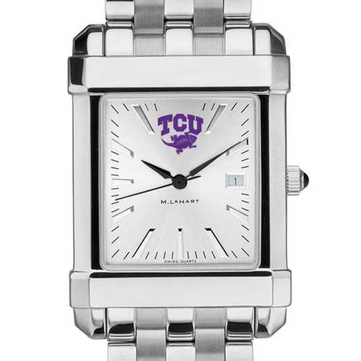 615789040316: Texas Christian University Men's Collegiate Watch w/Bracelet