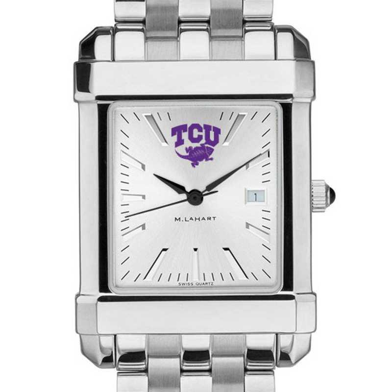615789040316: Texas Christian University Men's Collegiate Watch w/Bracelet