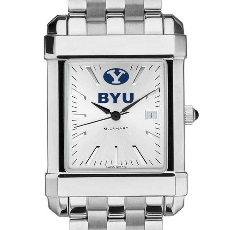 615789067405: Brigham Young University Men's Collegiate Watch w/ Bracelet