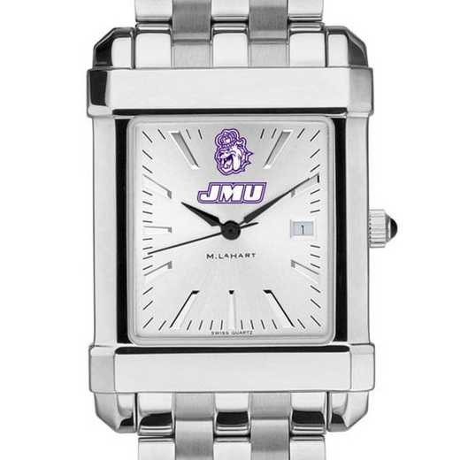 615789099123: James Madison Men's Collegiate Watch w/ Bracelet