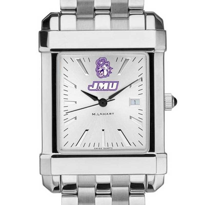 615789099123: James Madison Men's Collegiate Watch w/ Bracelet