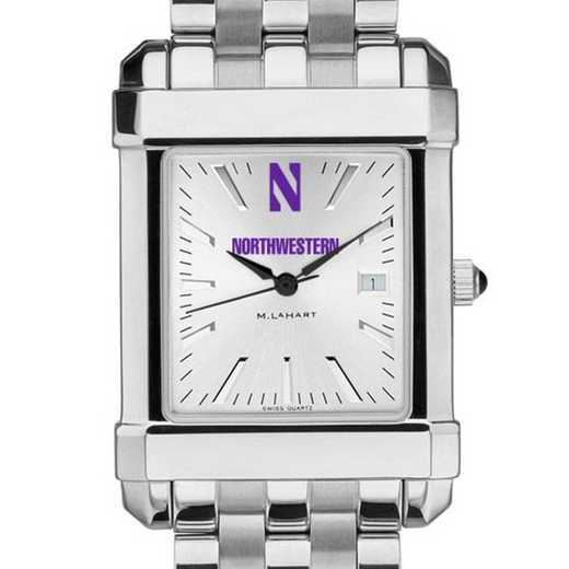 615789122845: Northwestern Men's Collegiate Watch w/ Bracelet
