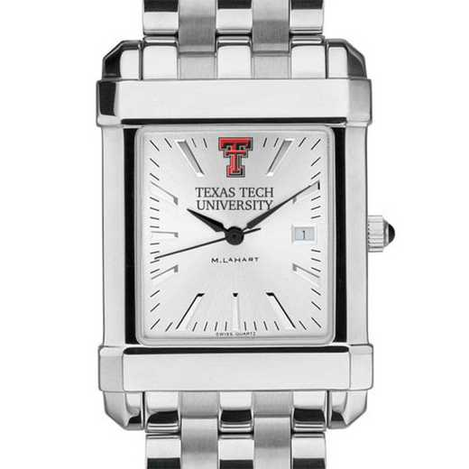 615789178828: Texas Tech Men's Collegiate Watch w/ Bracelet