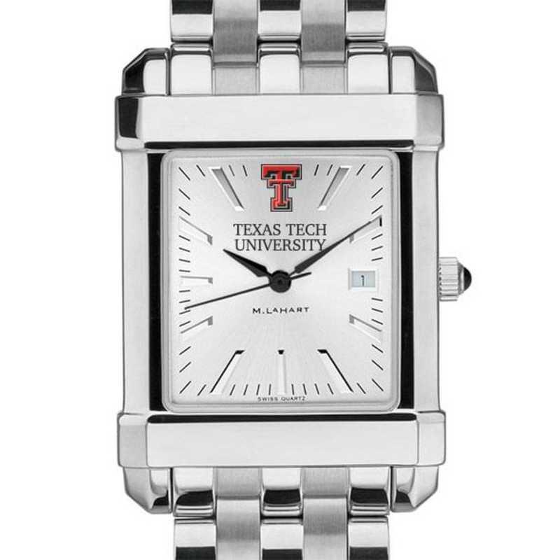 615789178828: Texas Tech Men's Collegiate Watch w/ Bracelet