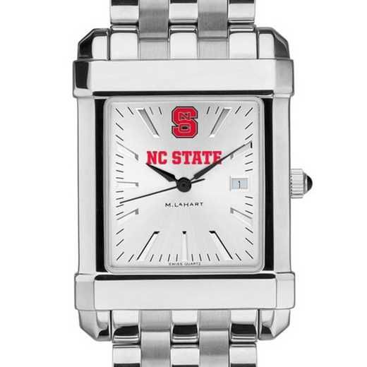 615789202462: NC State Men's Collegiate Watch w/ Bracelet
