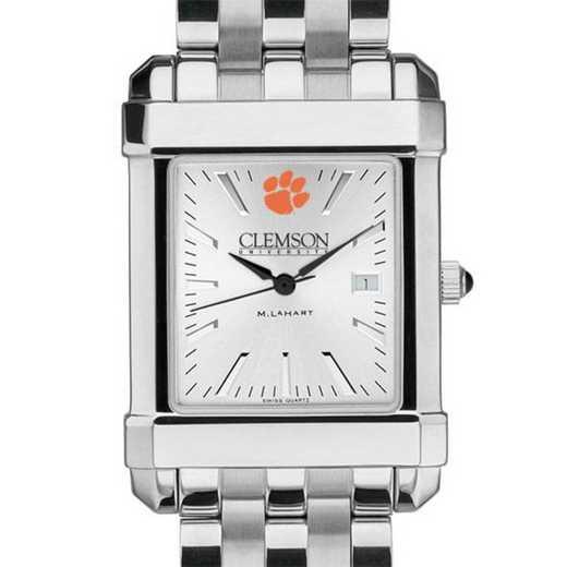 615789207252: Clemson Men's Collegiate Watch w/ Bracelet