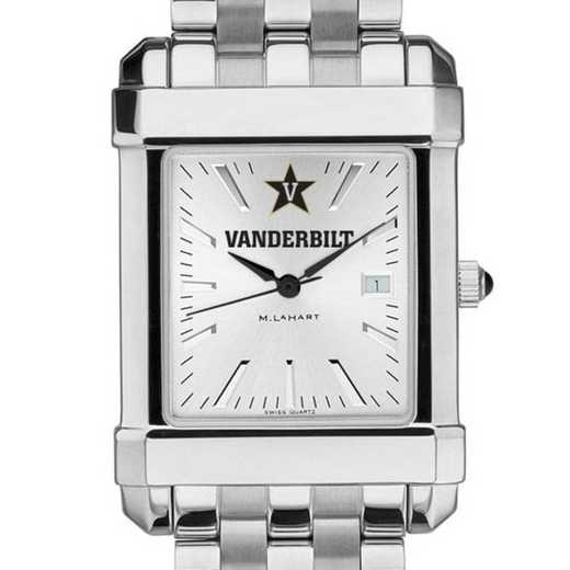 615789254379: Vanderbilt Men's Collegiate Watch w/ Bracelet