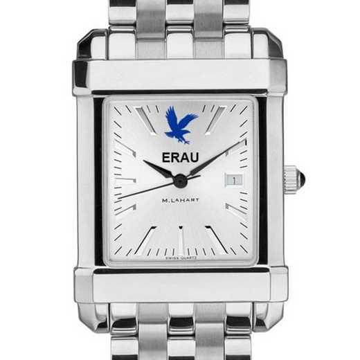 615789269946: Embry-Riddle Men's Collegiate Watch w/ Bracelet