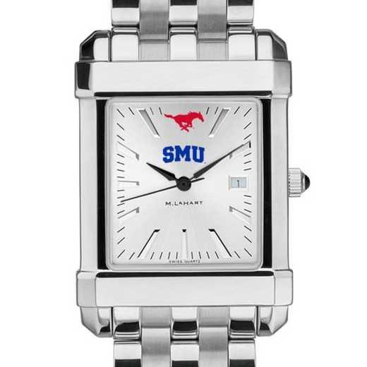 615789568148: SMU Men's Collegiate Watch w/ Bracelet