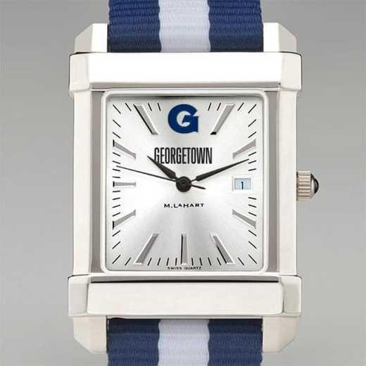 615789013723: Georgetown Univ Collegiate Watch W/NATO Strap for Men