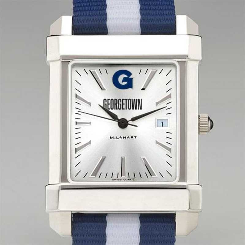 615789013723: Georgetown Univ Collegiate Watch W/NATO Strap for Men