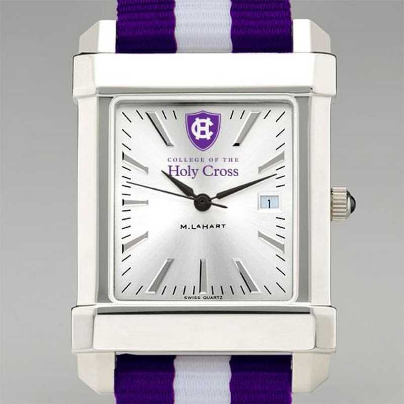 615789102656: Holy Cross Collegiate Watch W/NATO Strap for Men
