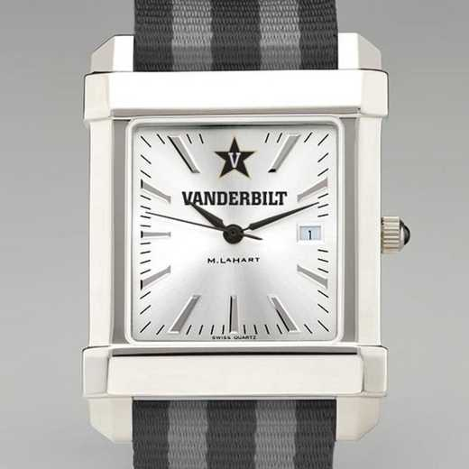 615789107385: Vanderbilt Univ Collegiate Watch W/NATO Strap for Men