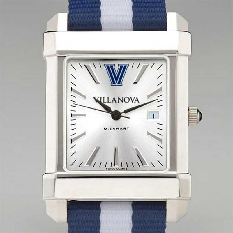 615789143642: Villanova Univ Collegiate Watch W/NATO Strap for Men