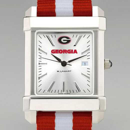 615789188728: Univ of Georgia Collegiate Watch W/NATO Strap for Men