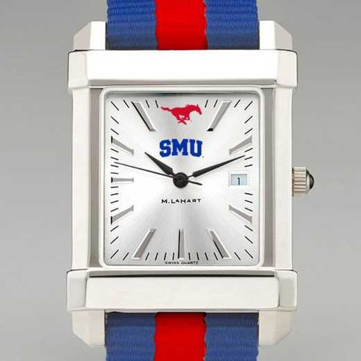 615789236047: Southern Methodist Univ Collegiate Watch W/NATO Strap