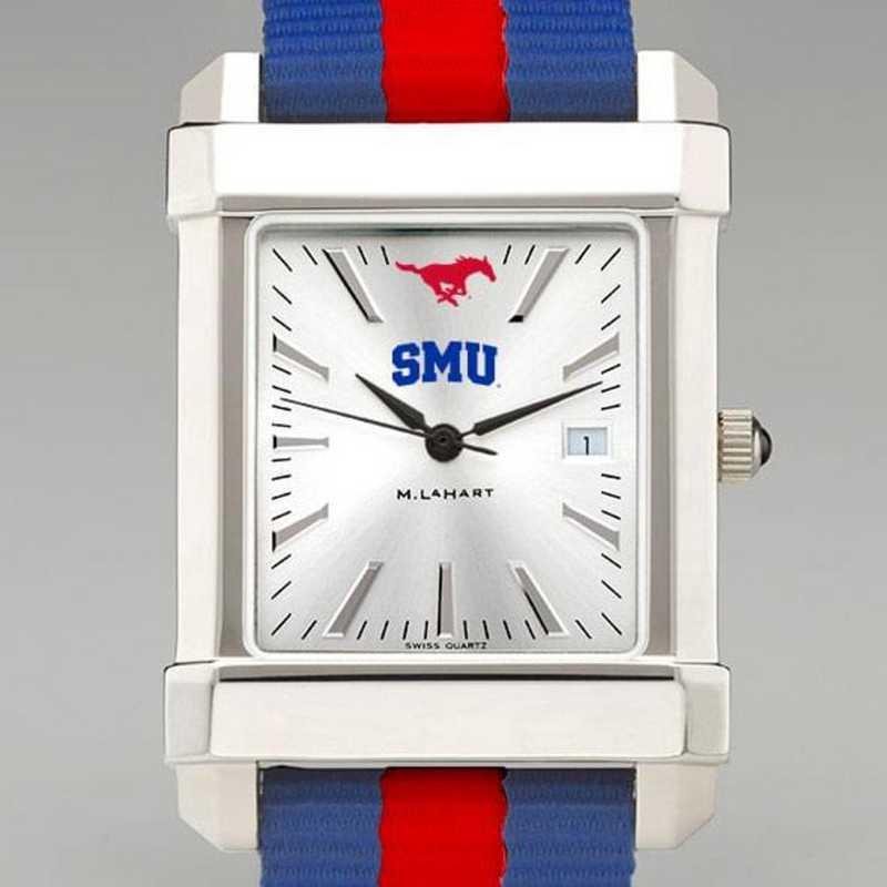 615789236047: Southern Methodist Univ Collegiate Watch W/NATO Strap