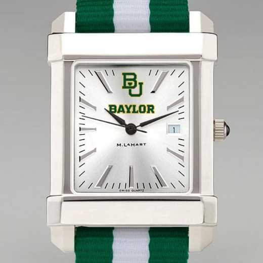 615789272946: Baylor Univ Collegiate Watch W/NATO Strap for Men