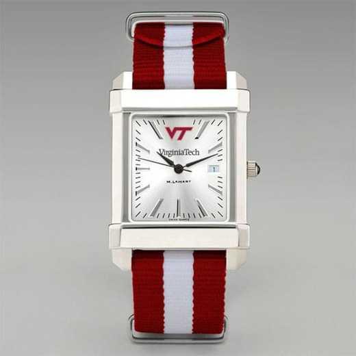 615789811329: Virginia Tech Collegiate Watch W/NATO Strap for Men