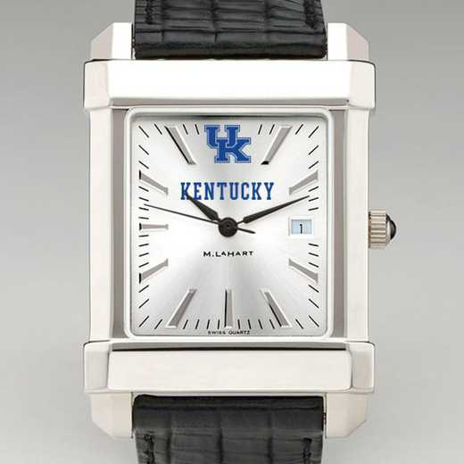 615789039969: Kentucky Men's Collegiate Watch W/ Leather Strap