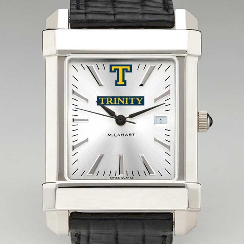 615789130734: Trinity College Men's Collegiate Watch W/ Leather Strap