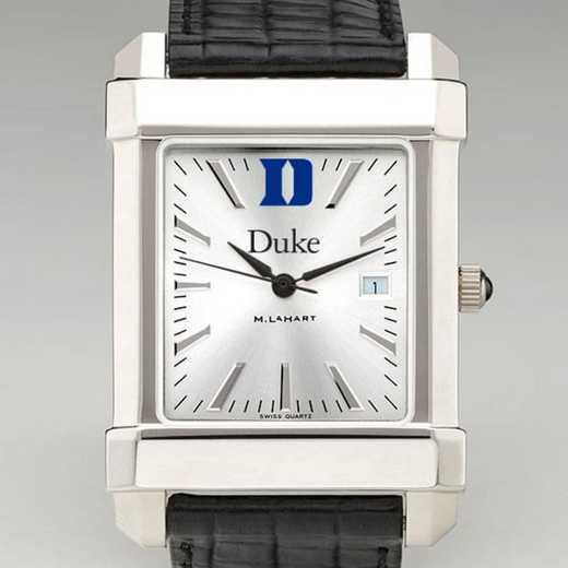 615789301998: Duke Men's Collegiate Watch W/ Leather Strap
