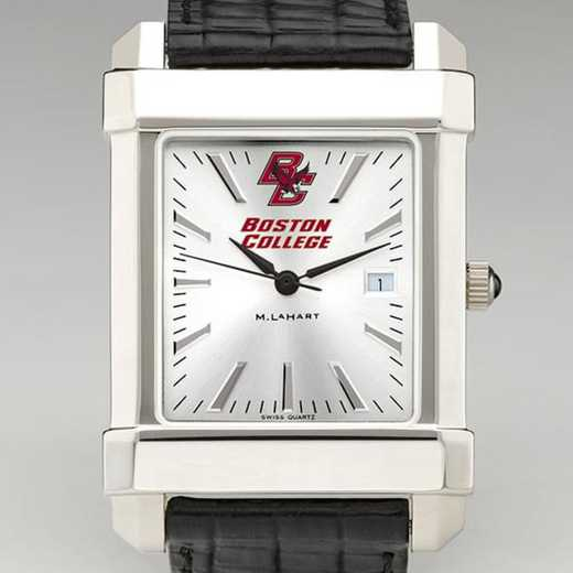 615789421443: Boston College Men's Collegiate Watch W/ Leather Strap