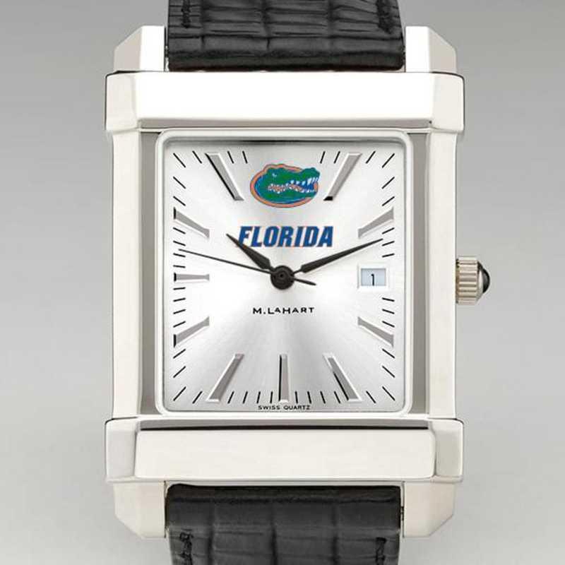 615789475521: Florida Men's Collegiate Watch W/ Leather Strap