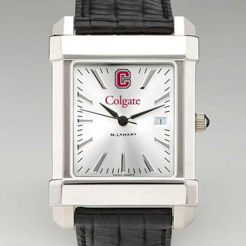615789510987: Colgate Men's Collegiate Watch W/ Leather Strap