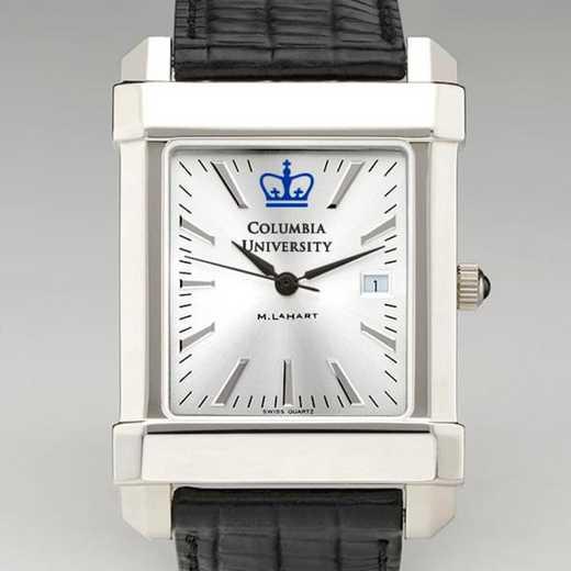 615789517474: Columbia Men's Collegiate Watch W/ Leather Strap