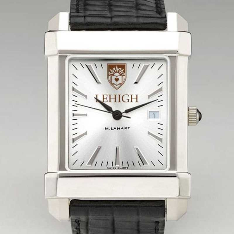 615789613596: Lehigh Men's Collegiate Watch W/ Leather Strap