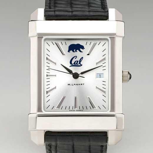 615789660484: Berkeley Men's Collegiate Watch W/ Leather Strap