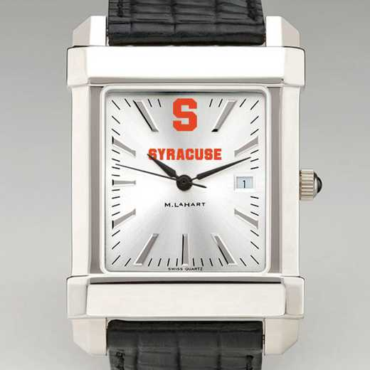 615789770459: Syracuse Univ Men's Collegiate Watch W/ Leather Strap