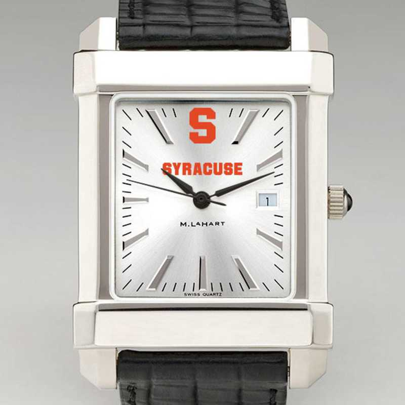 615789770459: Syracuse Univ Men's Collegiate Watch W/ Leather Strap
