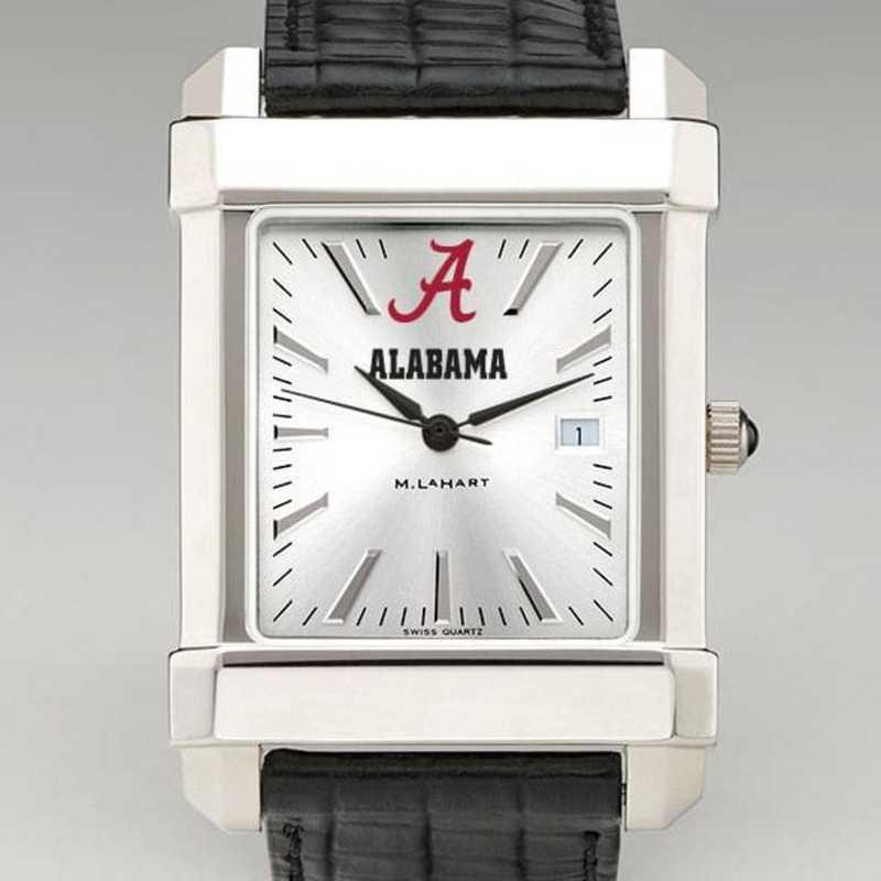 615789905868: Alabama Men's Collegiate Watch W/ Leather Strap