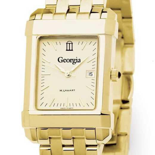 615789227434: Georgia Men's Gold Quad W/ Bracelet