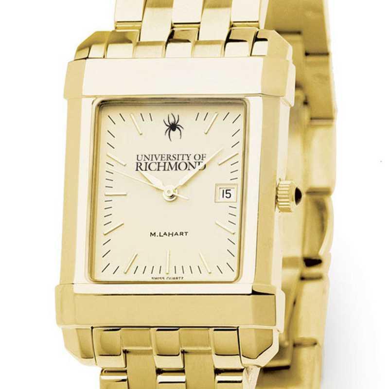 615789380757: University of Richmond Men's Gold Quad W/ Bracelet
