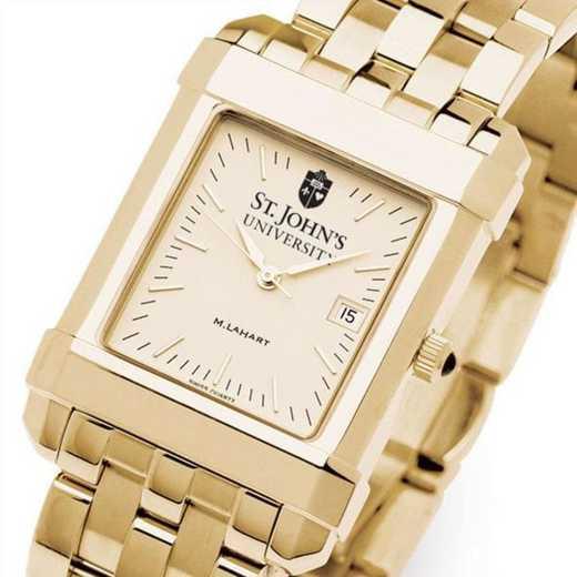 615789653073: St. John's Men's Gold Quad W/ Bracelet