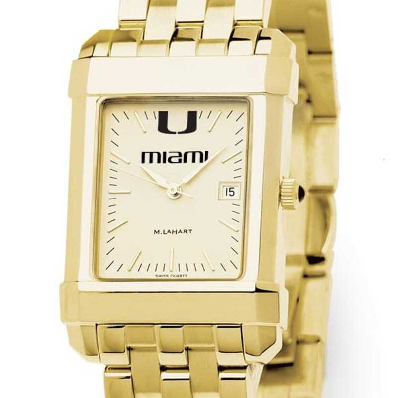 615789655213: Miami Men's Gold Quad W/ Bracelet