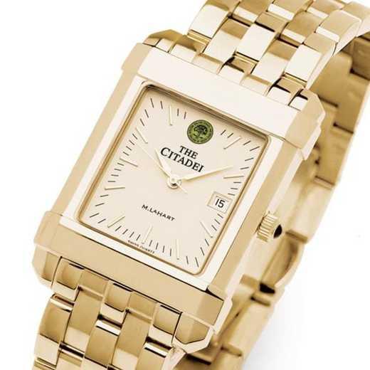 615789736899: Citadel Men's Gold Quad Watch with Bracelet