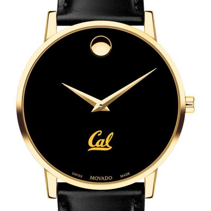 615789905790: Berkeley Men's Movado Gold Museum Classic Leather