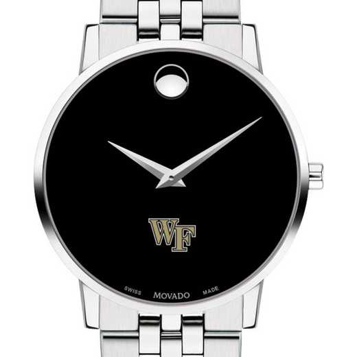 615789020929: Wake Forest Univ Men's Movado Museum with Bracelet