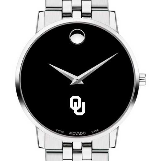 615789096481: Univ of Oklahoma Men's Movado Museum with Bracelet