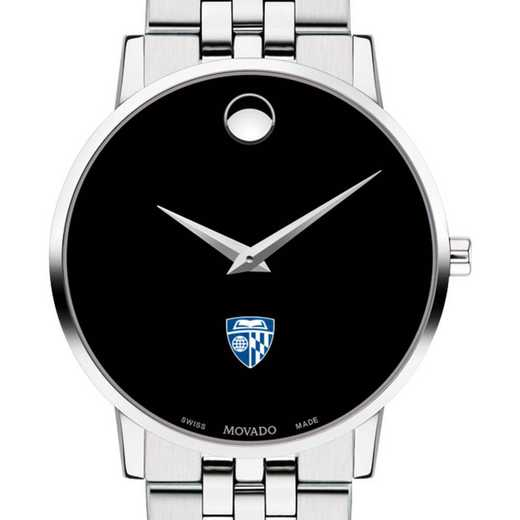 615789239215: Johns Hopkins Univ Men's Movado Museum w/ Bracelet