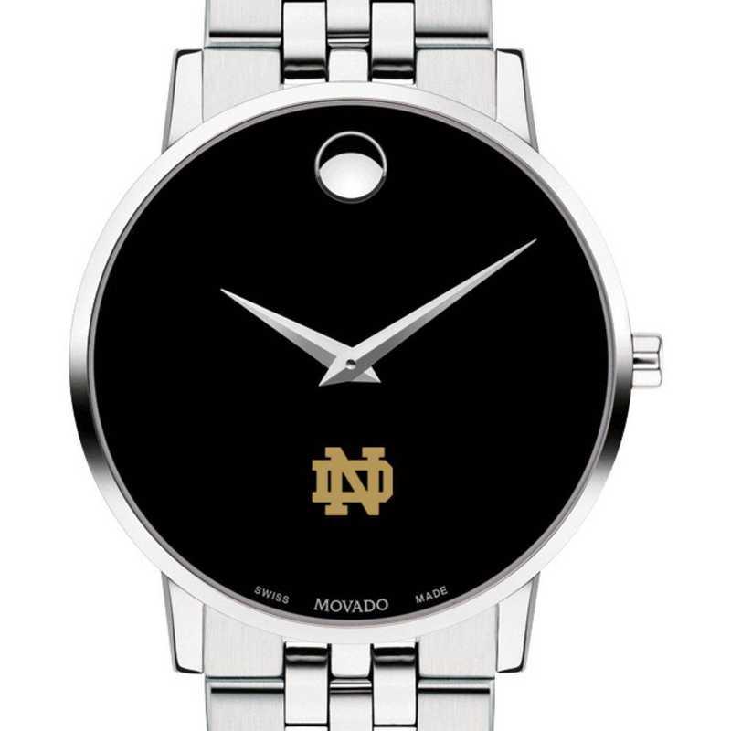 615789425076: Univ of Notre Dame Men's Movado Museum with Bracelet