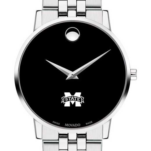 615789466826: Mississippi State Men's Movado Museum with Bracelet